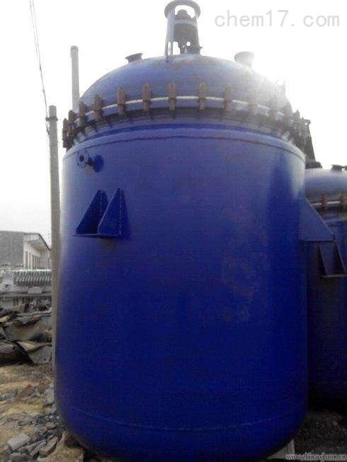 回收二手3吨搪瓷反应釜