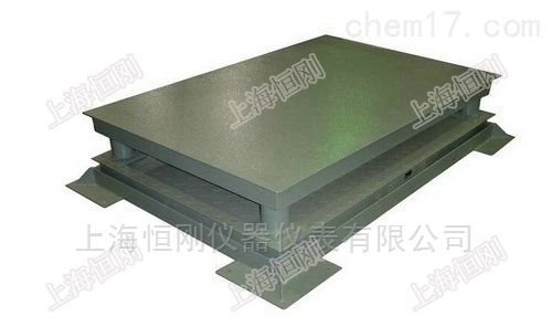 缓冲型卷钢称重地磅秤 卷板电子地磅三层