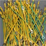 黄绿接地线BVR6平方长500毫米特点