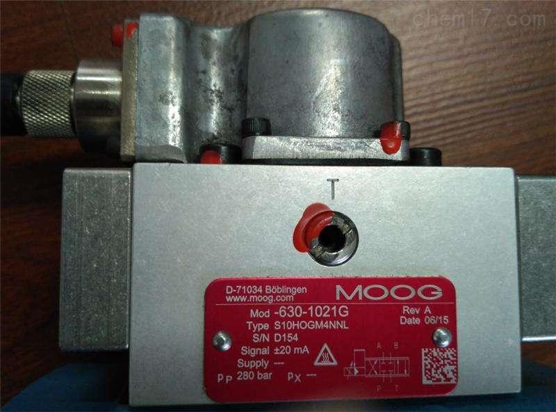 美国MOOG电磁阀货期短