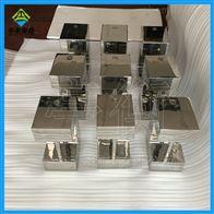 不锈钢六面体砝码,可以用手提的锁式砝码