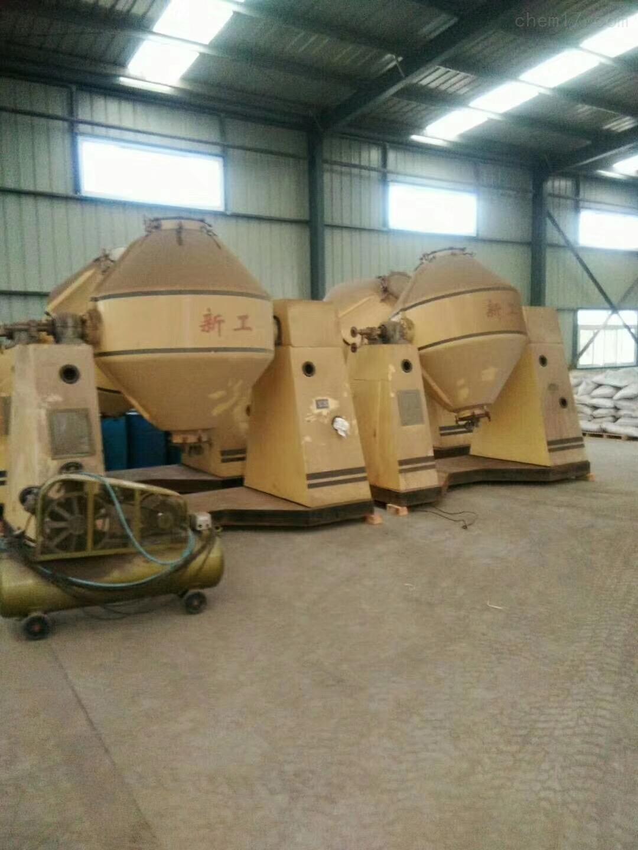 干燥机二手5000升搪瓷双锥干燥机回收