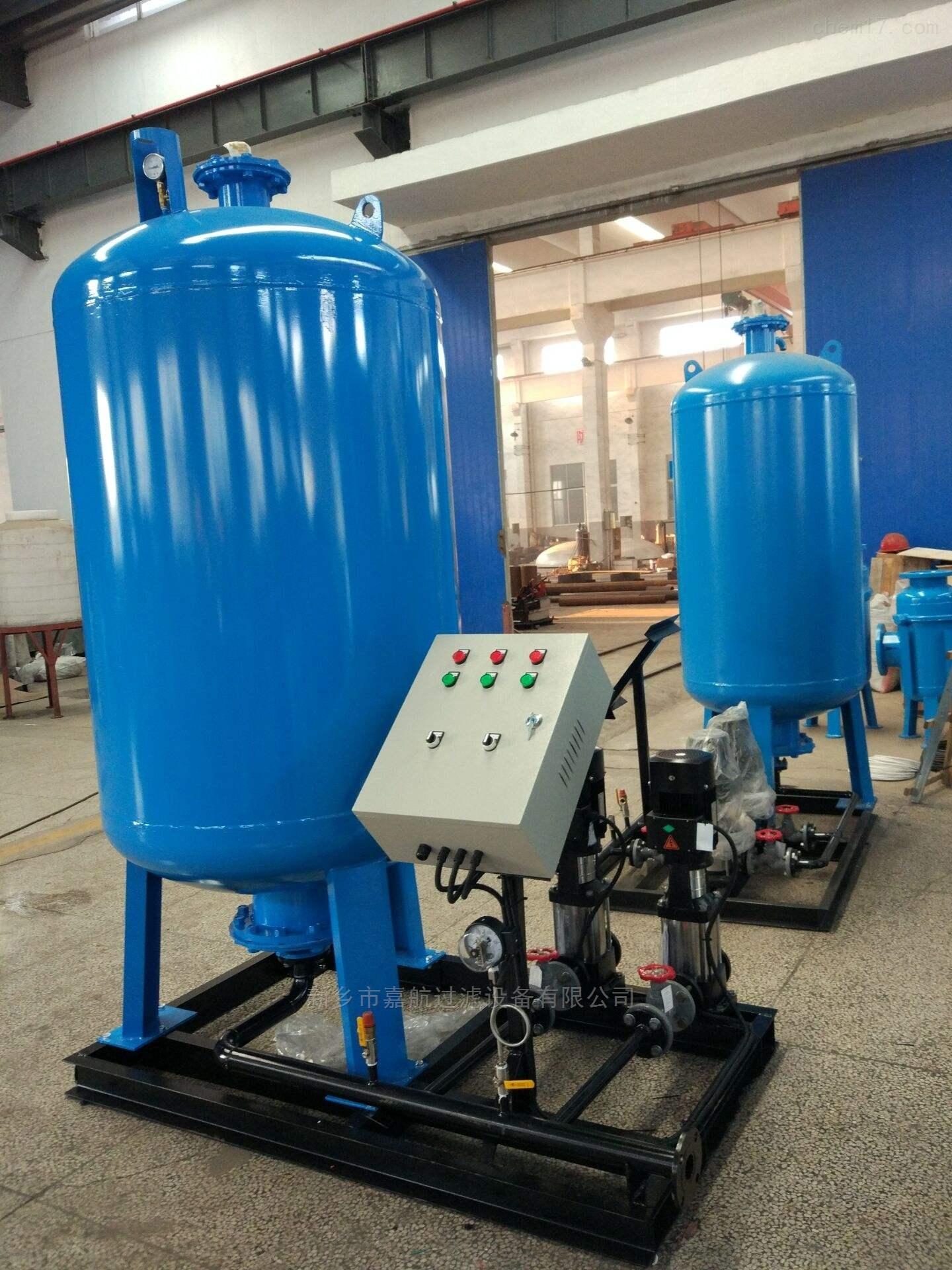 新式囊式定压补水装置使用介绍