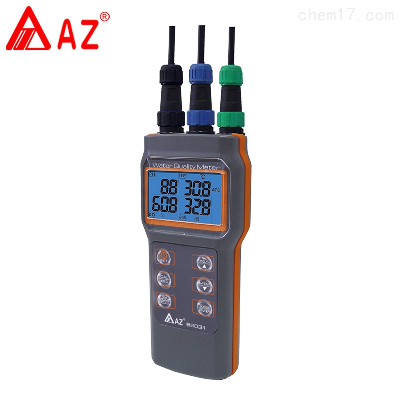 臺灣衡欣AZ86031綜合水質檢測儀