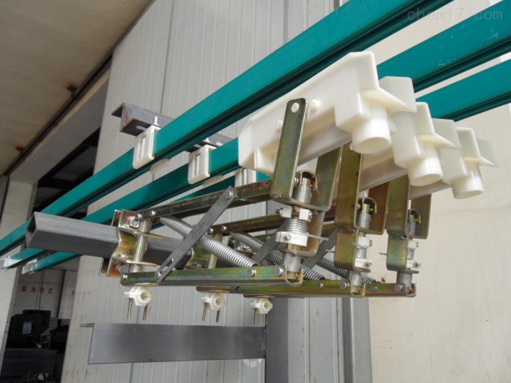单极轻型集电器/单级滑线集电器厂家/滑线受电器