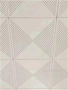 鋁制和音吸音天花板沖孔工程鋁扣板