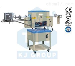 OTF-1200X-4-R-II-AF 双温区回转管式炉