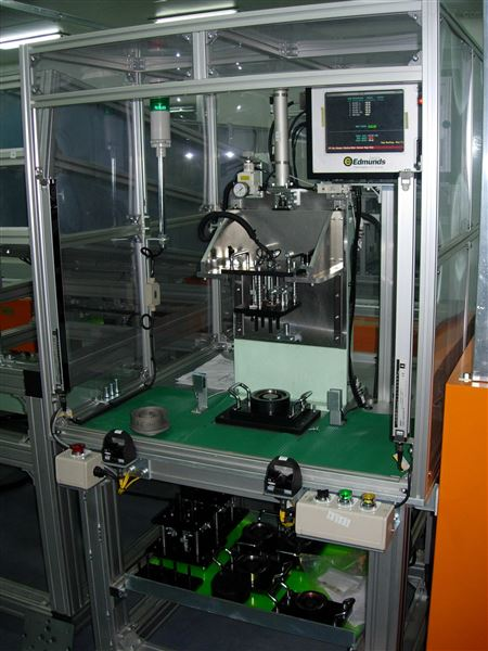 涡旋压缩机测量工作站偏心套分选机