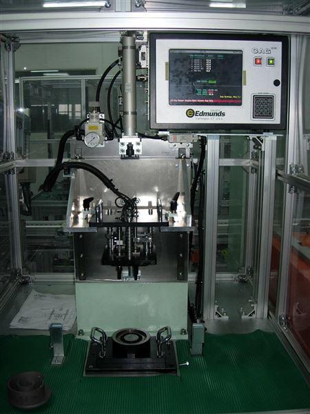 空调压缩机涡轮量件测量工作站