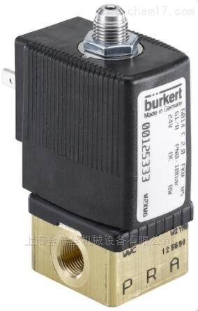 BURKERT类型6014-直动式两位三通柱塞电磁阀