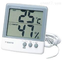日本佐藤sksato数字温湿度计PC-5000TRH II