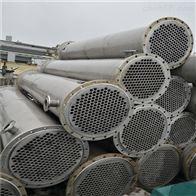 二手40平方不锈钢列管式冷凝器