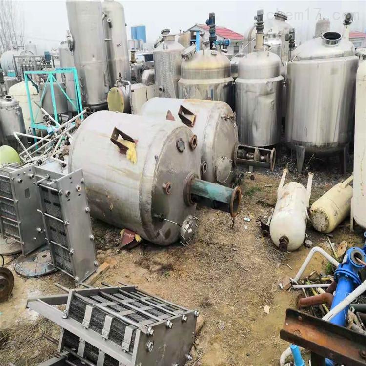 供应二手4000L电加热搪瓷反应釜