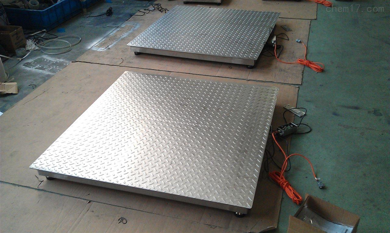 上海耀华不锈钢带不干打印平台电子秤现货