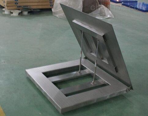 化工厂200公斤带485通讯防生锈地磅秤厂家