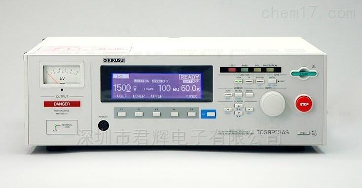 菊水10kV绝缘电阻测试仪TOS9213AS