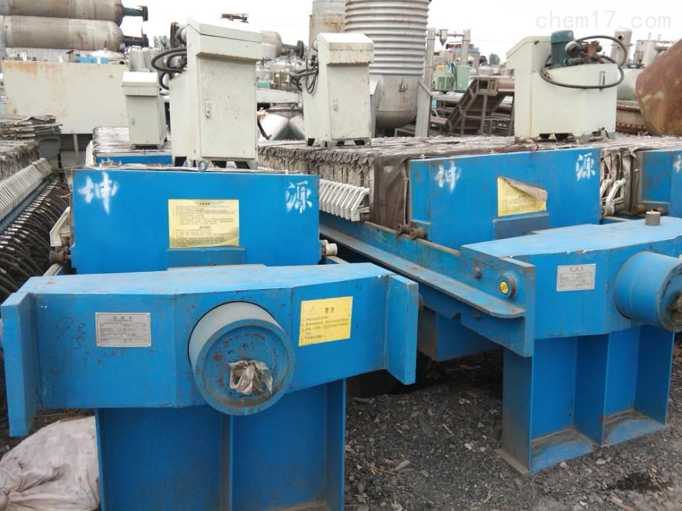 回收二手80平方污泥压滤机价格