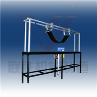 TD输送带横向柔性和成槽性试验机