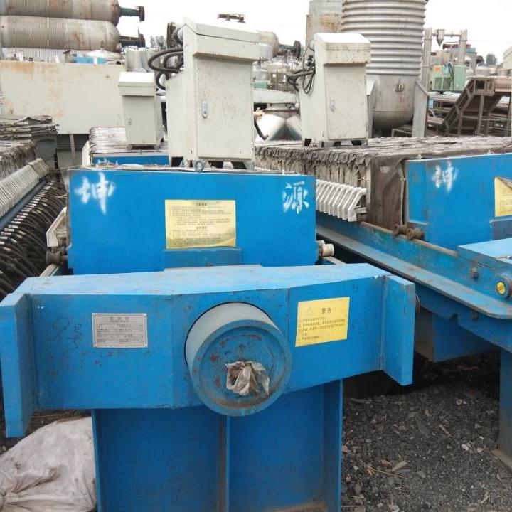 回收各类二手厢式污泥压滤机