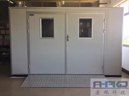 热烈祝贺爱佩12立方高温老化房安装完工于衡阳瑞达电源有限公司