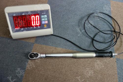 特殊定制的数显手动扭力测量扳手