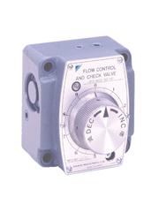 日本DAIKIN流量控制阀JF-G03-105-16,由于压力和温度补偿,即使负荷压力和油温变化,设定的流量也会保持不变。从微流量大流到量控制。