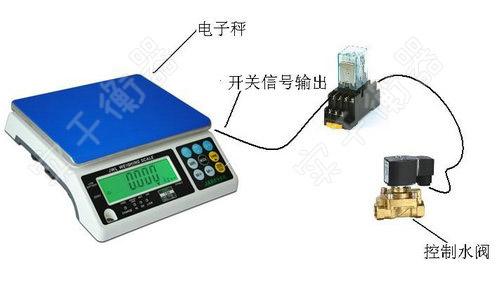 信号输出电子台秤