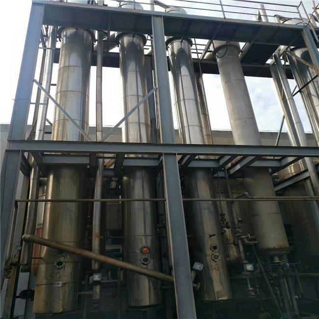 废水处理三效降膜蒸发器 二手废水蒸发器厂家三效废水蒸发器 梁山瑞
