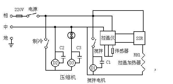 多组输出测试电路图
