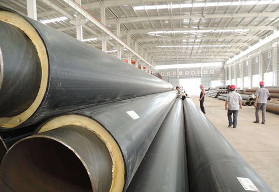 预制聚氨酯热力发泡保温管厂家