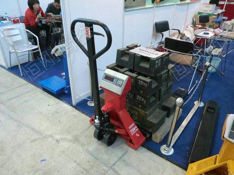 磅秤式液压拖板车