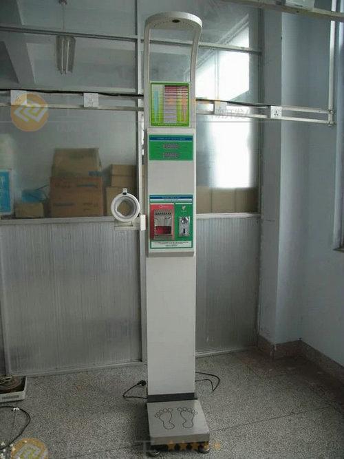 电子人体身高体重秤红外线测量