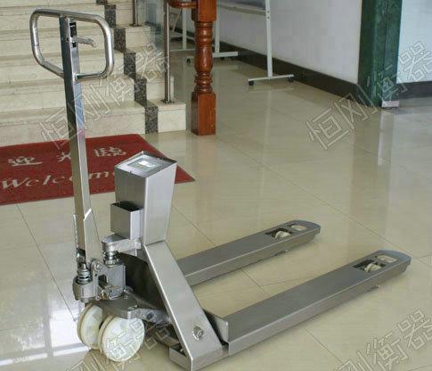 不锈钢电子秤叉车