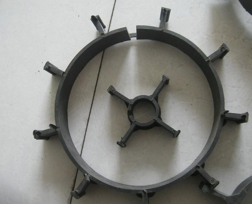 聚氨酯管道专用塑料支架 木支架 管托图片