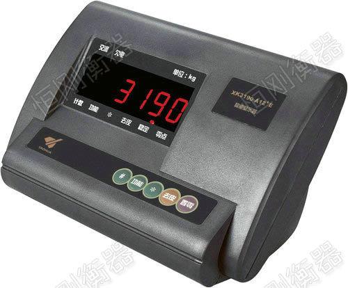 手推移动电子地磅秤称重仪表