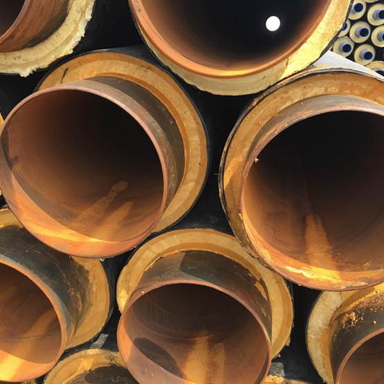 塑套钢聚氨酯地埋保温管厂家
