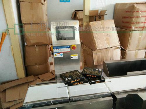 自动化纸箱剔除机