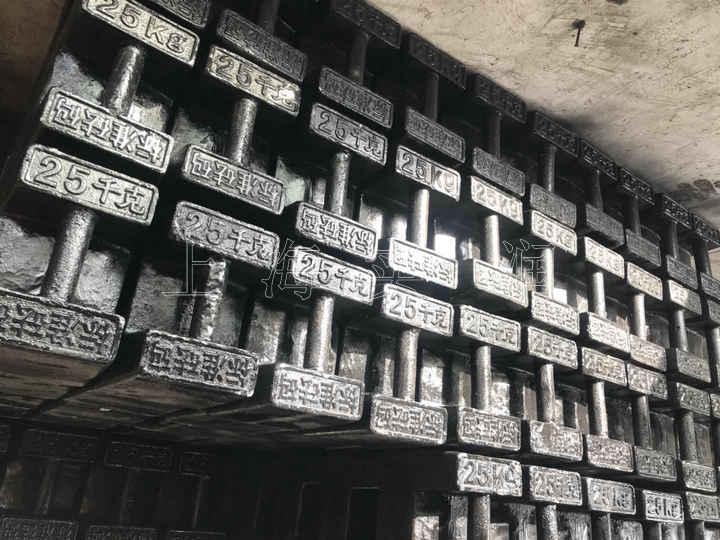 兰州25公斤电梯砝码