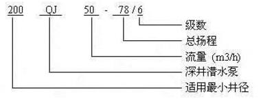 高温深井泵型号意义