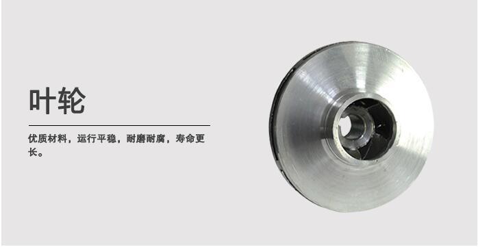 ISW型單級單吸離心泵葉輪