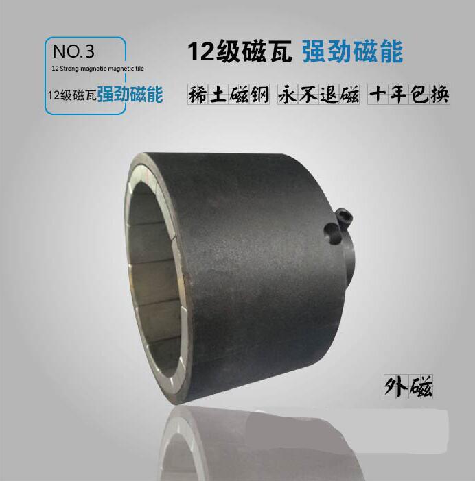 CQB型不锈钢无泄漏磁力泵外磁