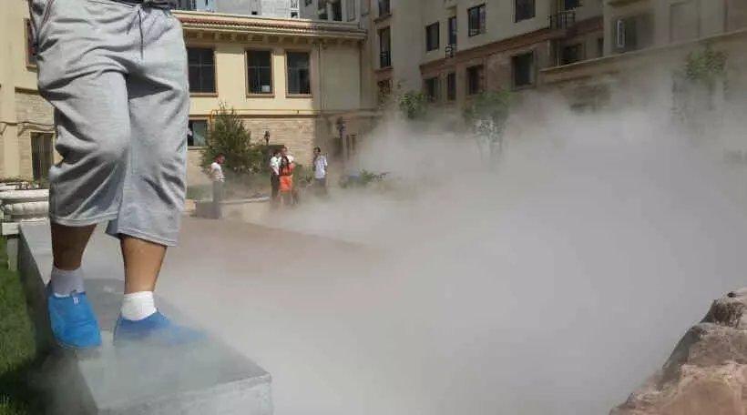 小区喷雾设备